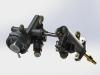 Aprilia Caponord ETV1000 Rally-Raid and Futura throttle body injection manifold rear