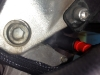 Aprilia Caponord ETV1000 Rally-Raid new cable connected to the starter motor