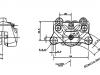 Caliper CAD drawing