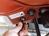 Seat latch - click, click,click ... don't waste your time or break the key!